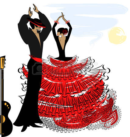 Image result for flamenco dancer png