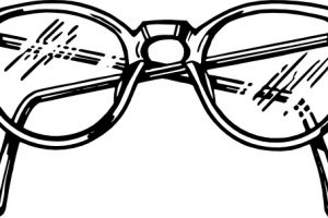 spectacles clipart 1