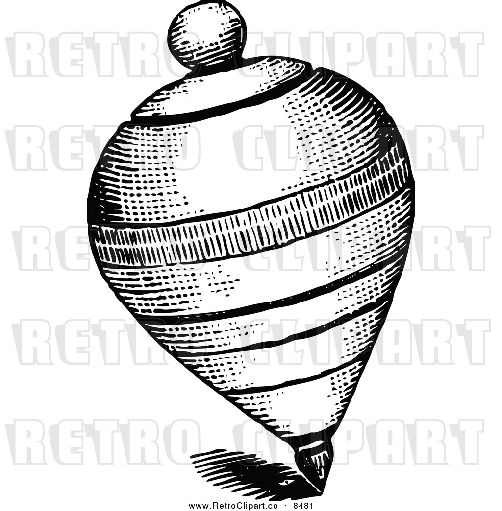 Free Spinning Top Clipart Black And White, Download Free Clip Art, Free Clip  Art on Clipart Library