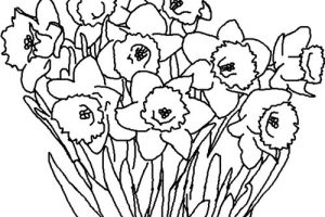 spring clipart black and white 5