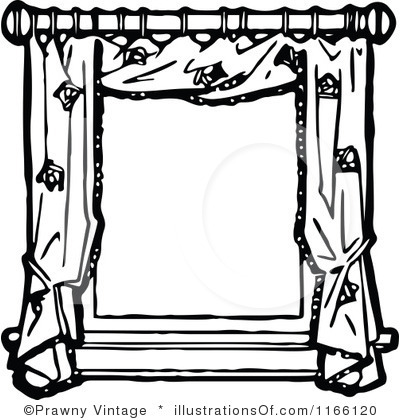 square window clipart black and white Clipart Station