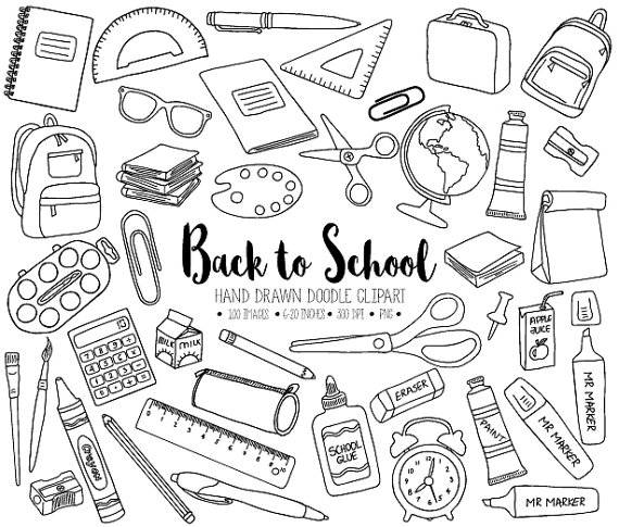 stationery clipart black and white 4 clipart station