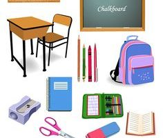 stationery items clipart 7
