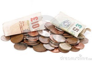 sterling money clipart