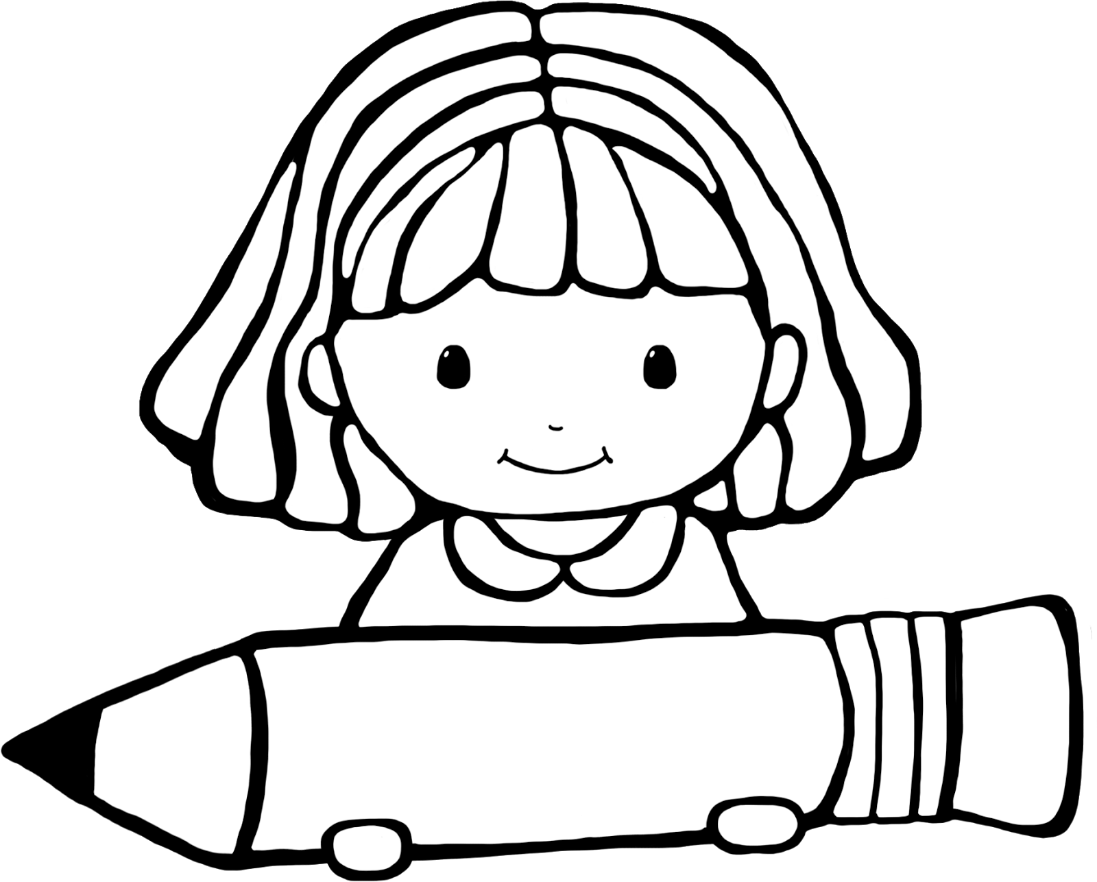 Student Clipart Black And White: Student Clipart Black And White 2 » Clipart Station