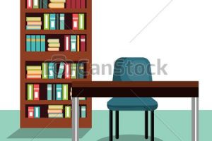 study room clipart 1