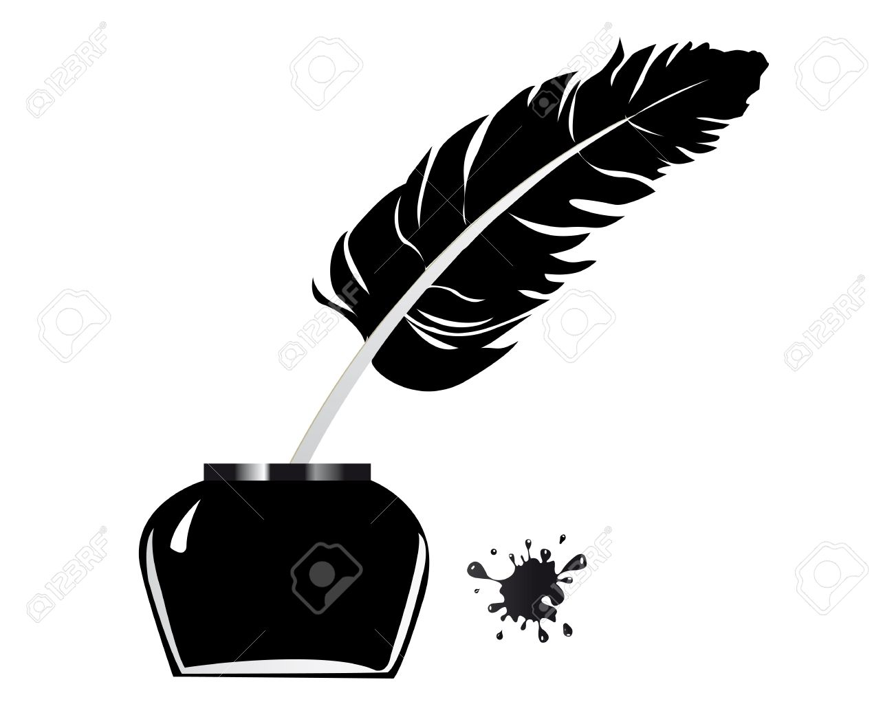 Stylo Plume Clipart 6 » Clipart Station