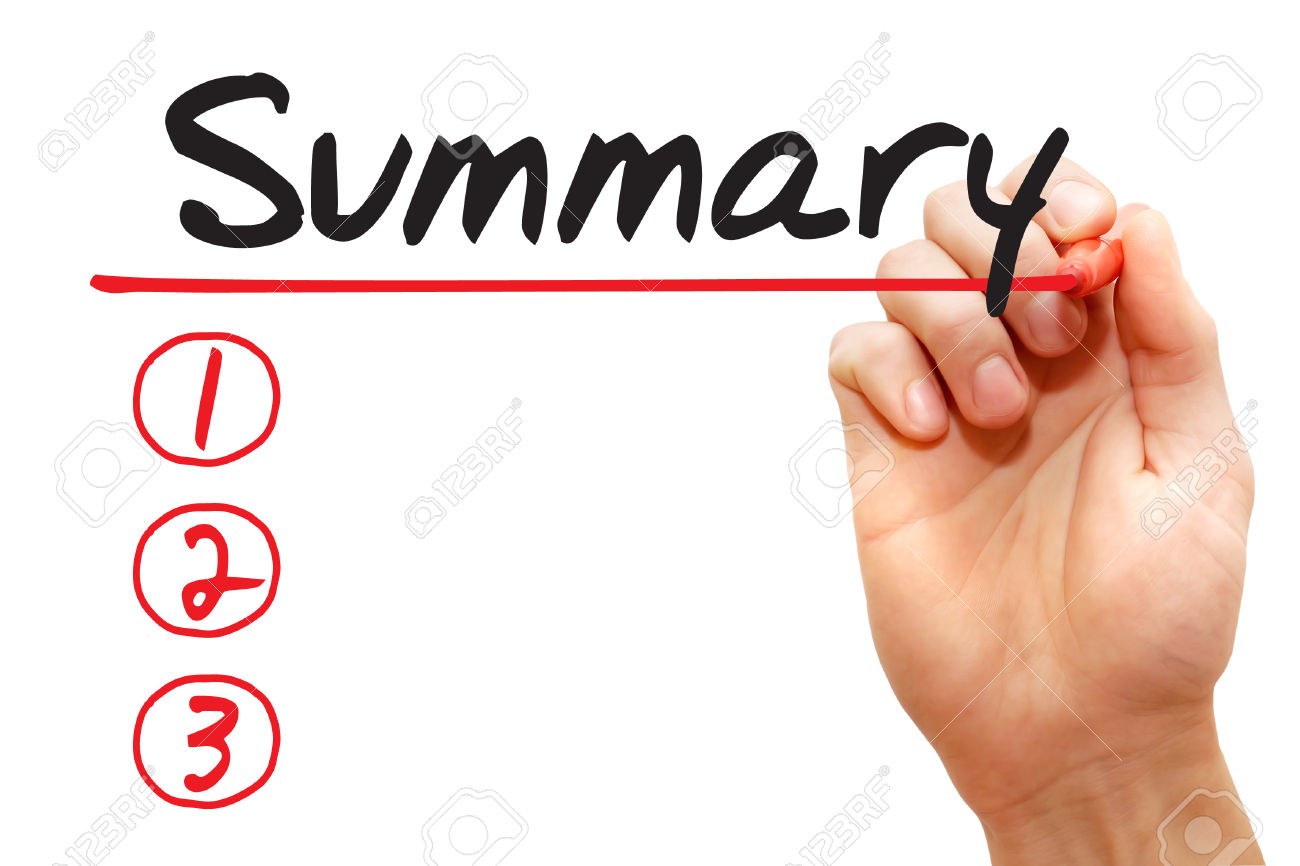 Summary report template - Report Templates