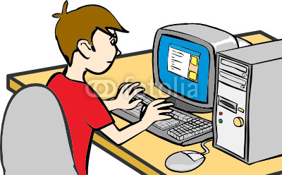 Boy Surfing Internet Flat Vector Illustration. Young Intelligent.. Royalty  Free Cliparts, Vectors, And Stock Illustration. Image 122914336.