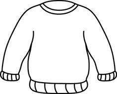 sweater clipart 1
