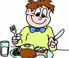 table manners clipart 2