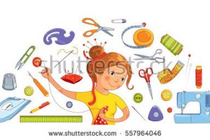 tailor tools clipart 9