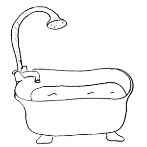 black and white artwork for bathroom taking a bath clipart black and white 4 clipart station 25097