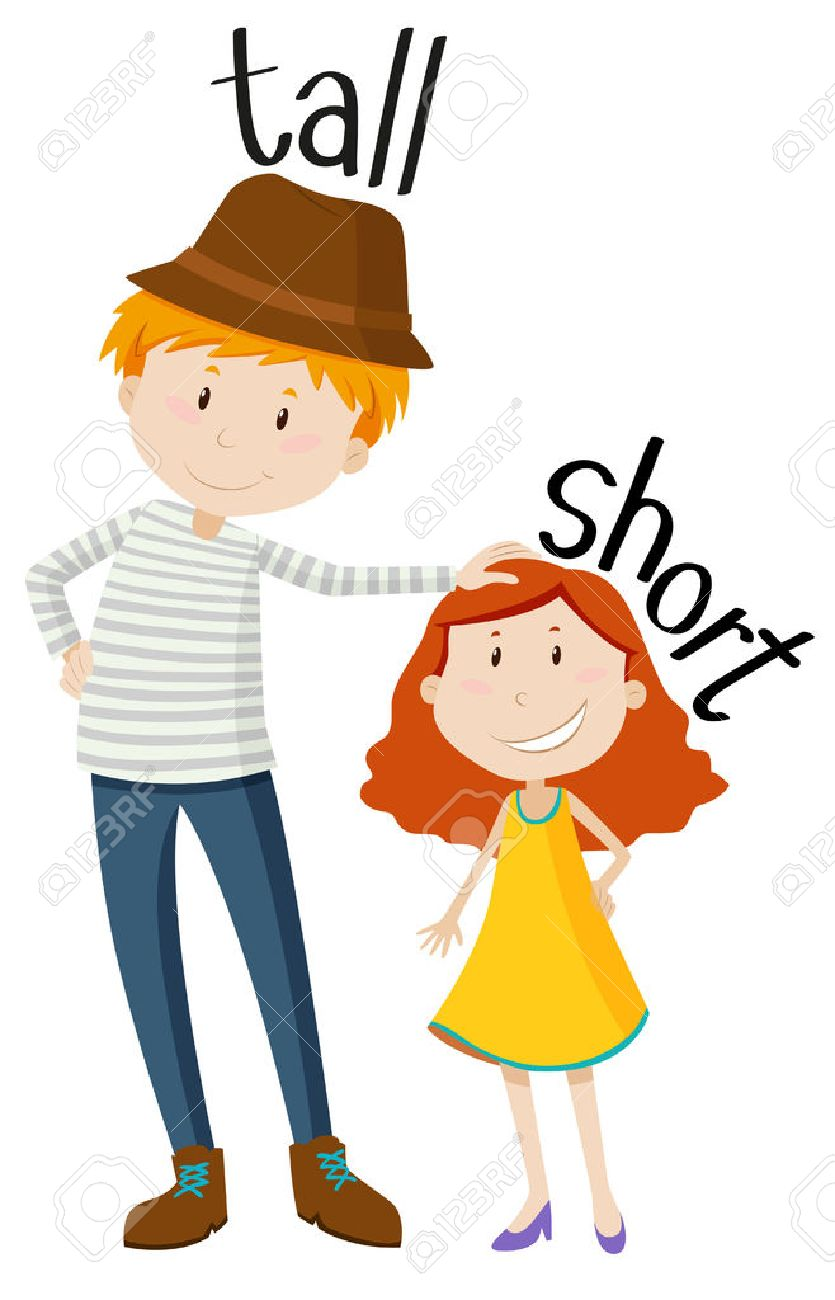 Tall short clipart 7 » Clipart Station