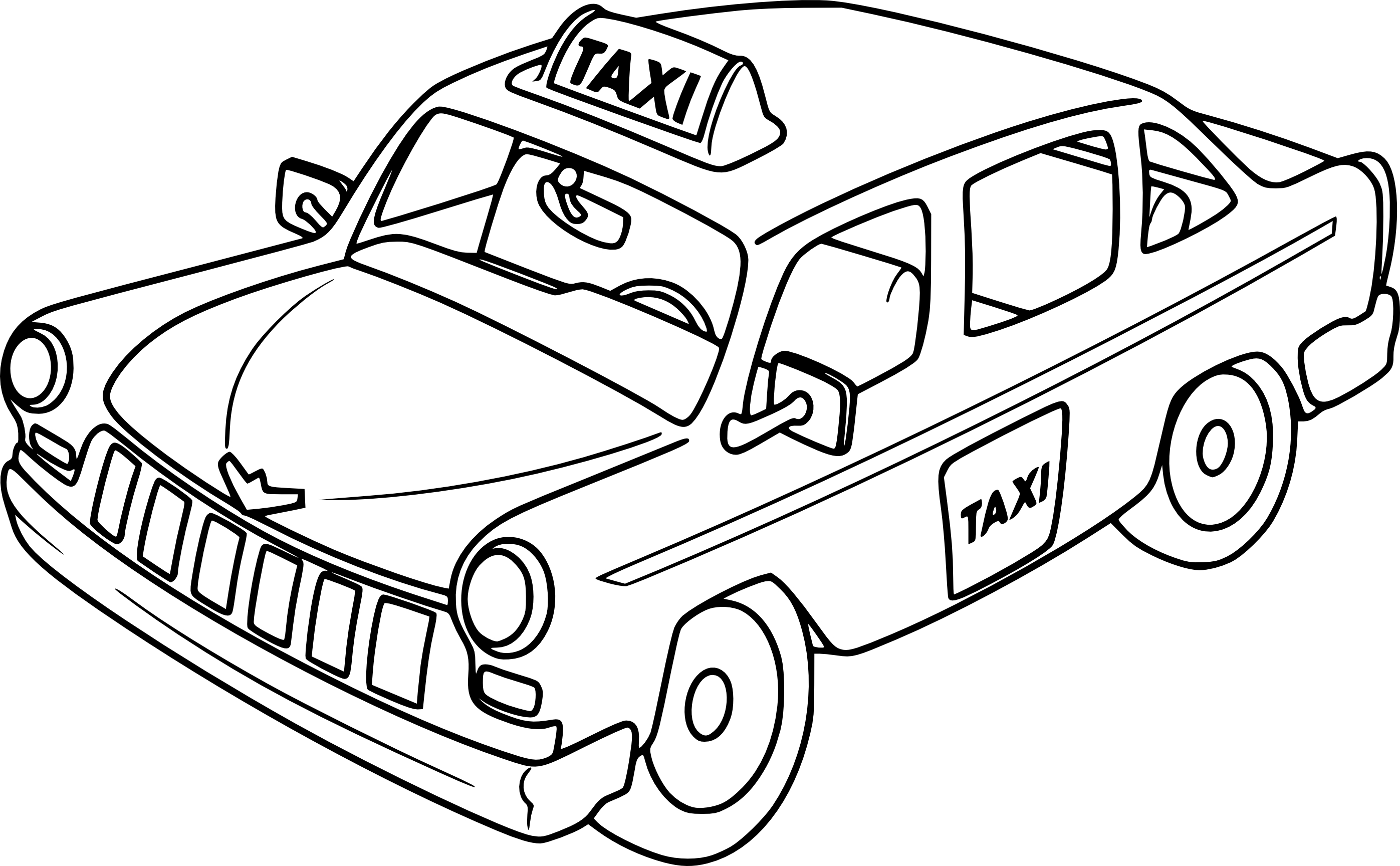 taxi clipart black and white 10 clipart station. Black Bedroom Furniture Sets. Home Design Ideas