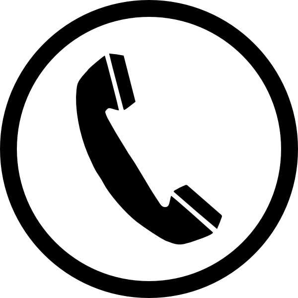 telephone logo clipart 4 clipart station rh clipartstation com telephone logo black and white telephone logo for emails