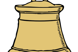 temple bell clipart 5