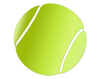 tennis ball clipart 6 clipart station rh clipartstation com tennis ball logo clipart tennis ball clip art images