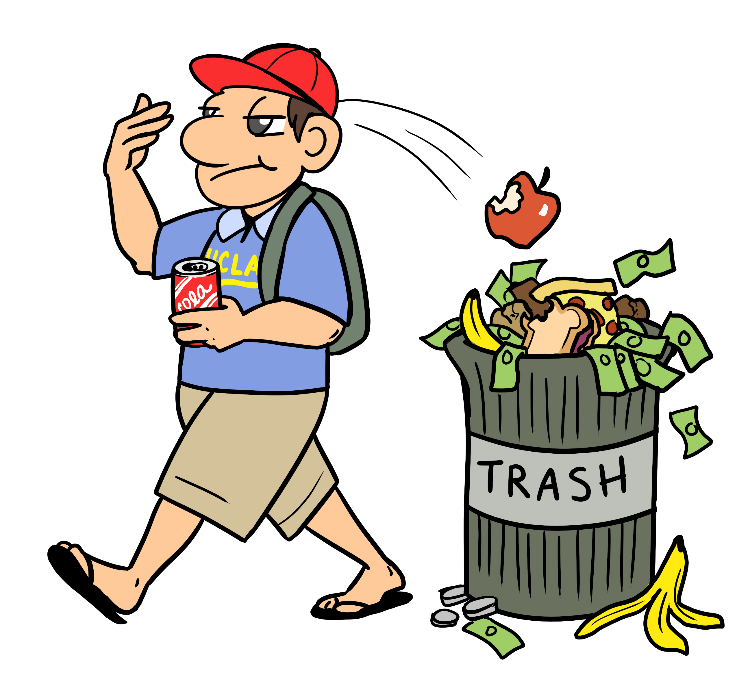 throwing garbage anywhere clipart 7 | Clipart Station