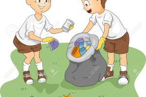 throwing garbage in the river clipart 7