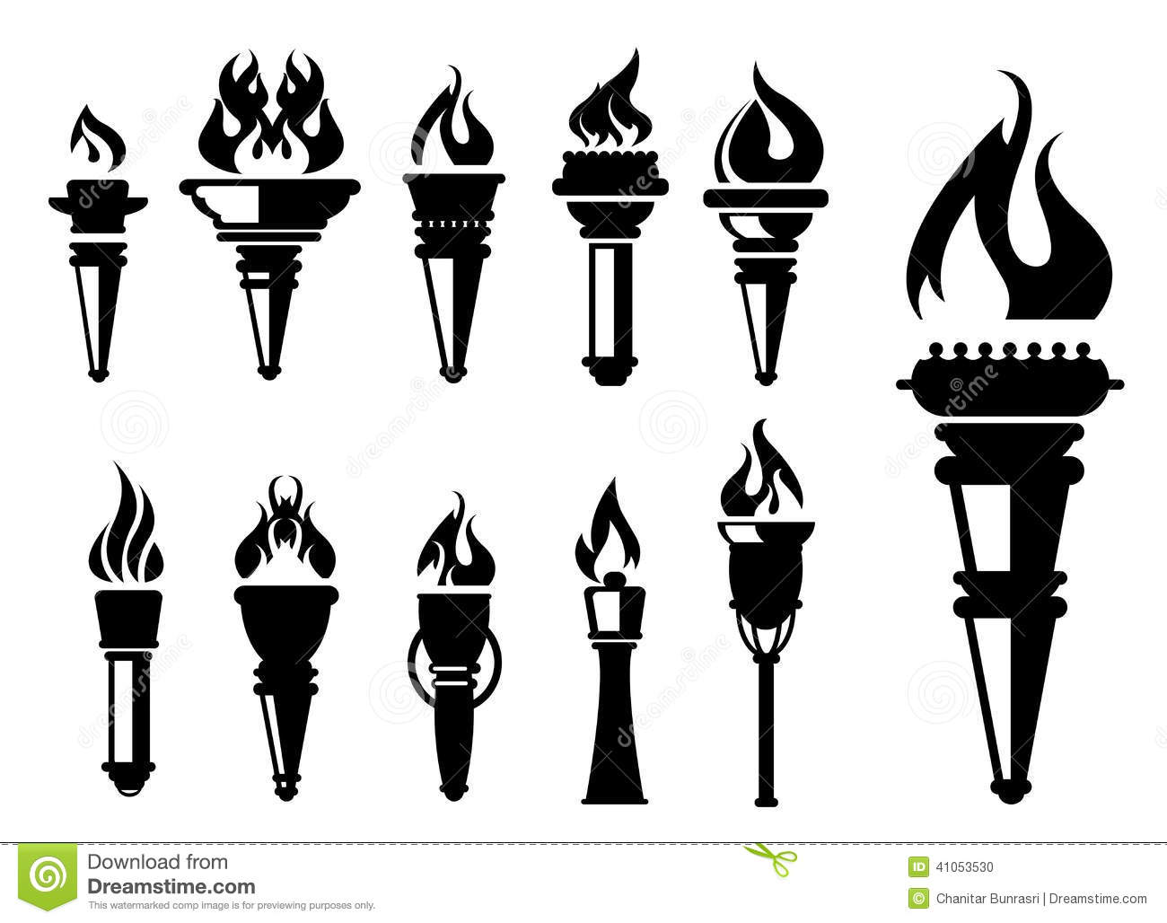 torch clipart black and white 2 | Clipart Station for Torch Clipart Black And White  45hul