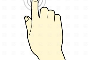 touch clipart 4