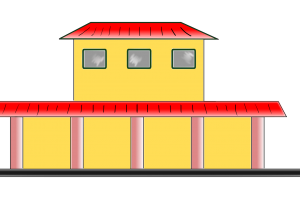 train station clipart 1