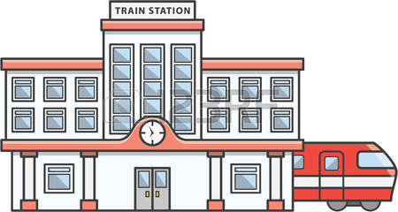 Train station clipart 3 » Clipart Station