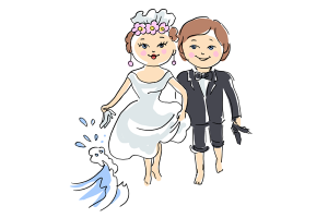 trauung clipart 4