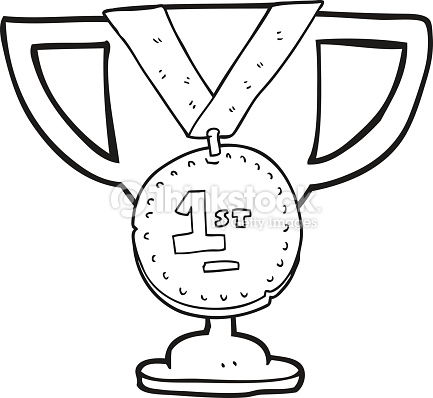 Trophy clipart black and white 6 » Clipart Station