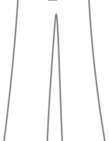 trousers clipart black and white