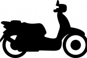 two wheeler clipart 1