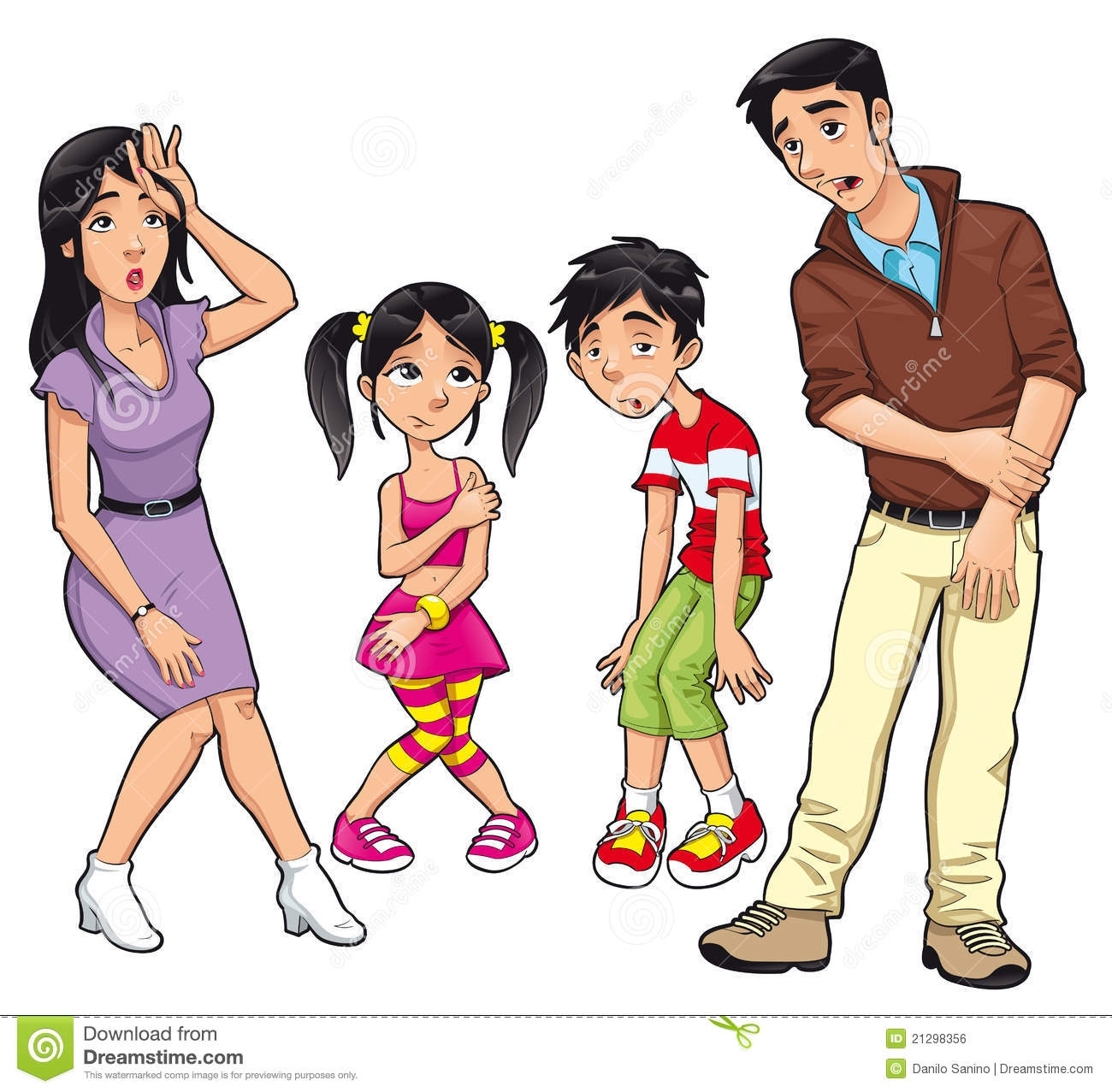 unhappy family clipart 5 | clipart station