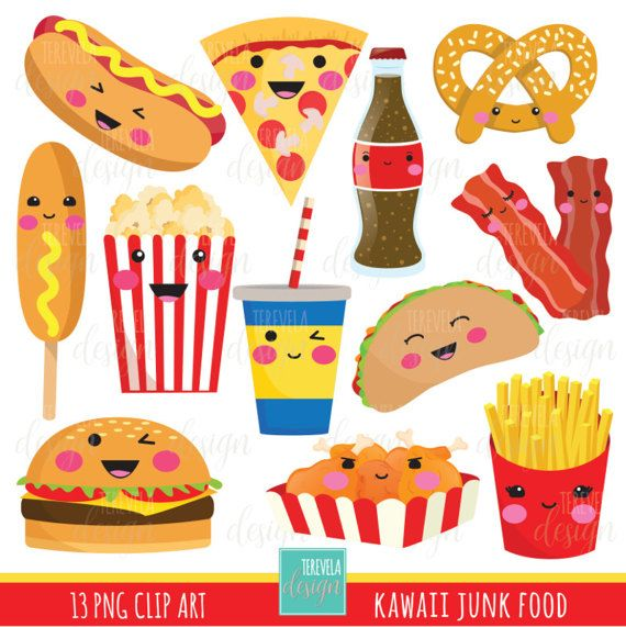 unhealthy food clipart 4 | Clipart Station