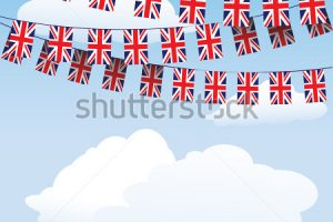 union jack bunting clipart 1