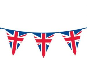 union jack bunting clipart 11