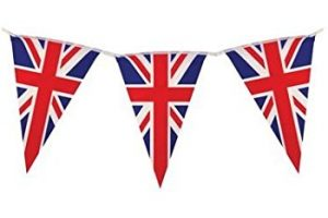 union jack bunting clipart 5