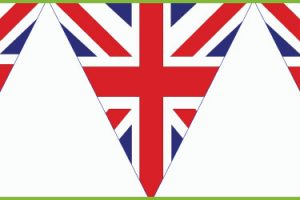 union jack bunting clipart 6