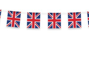 union jack bunting clipart 9