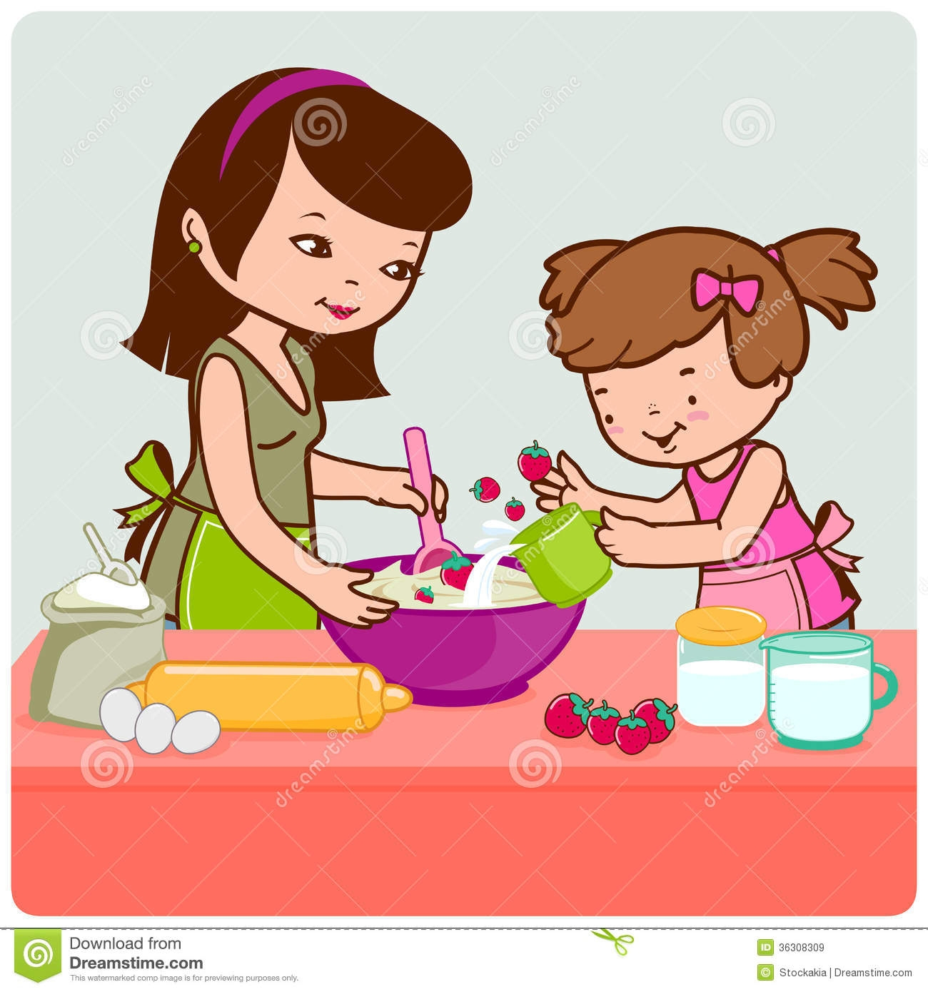 Woman Is Cooking clipart. Free download transparent .PNG   Creazilla