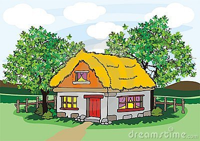 Village house clipart 9 » Clipart Station