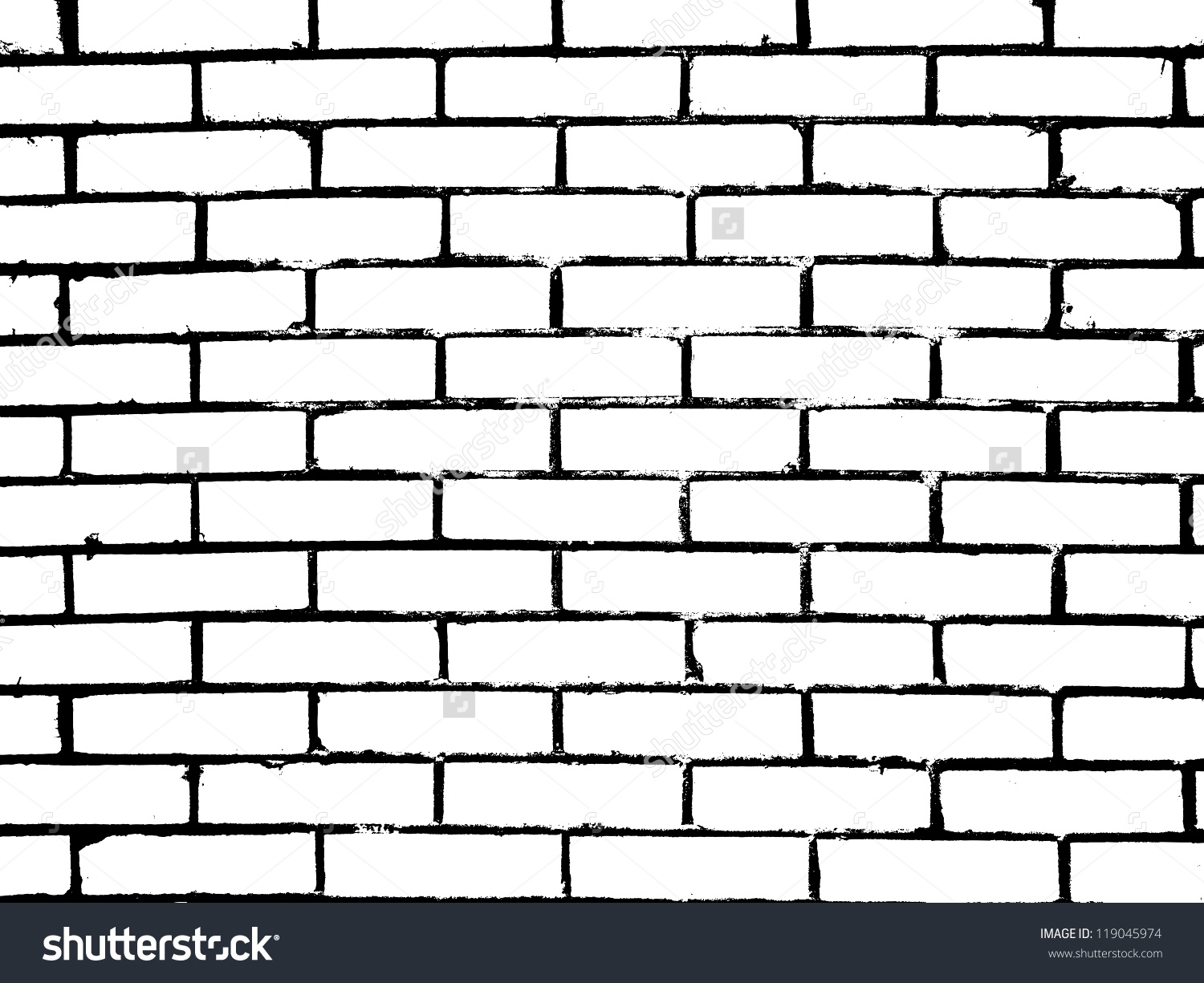 brick wall clipart black and white small kitchen Living | Clipart ...