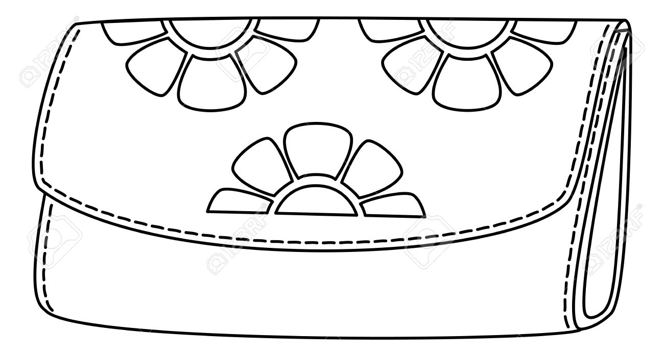 wallet clipart black and white 8 clipart station