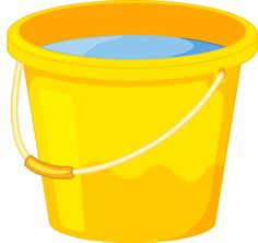 Water bucket. Clipart station