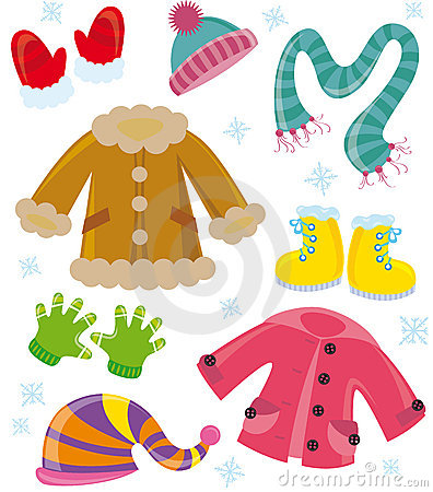 Winter season clothes clipart 4 » Clipart Station