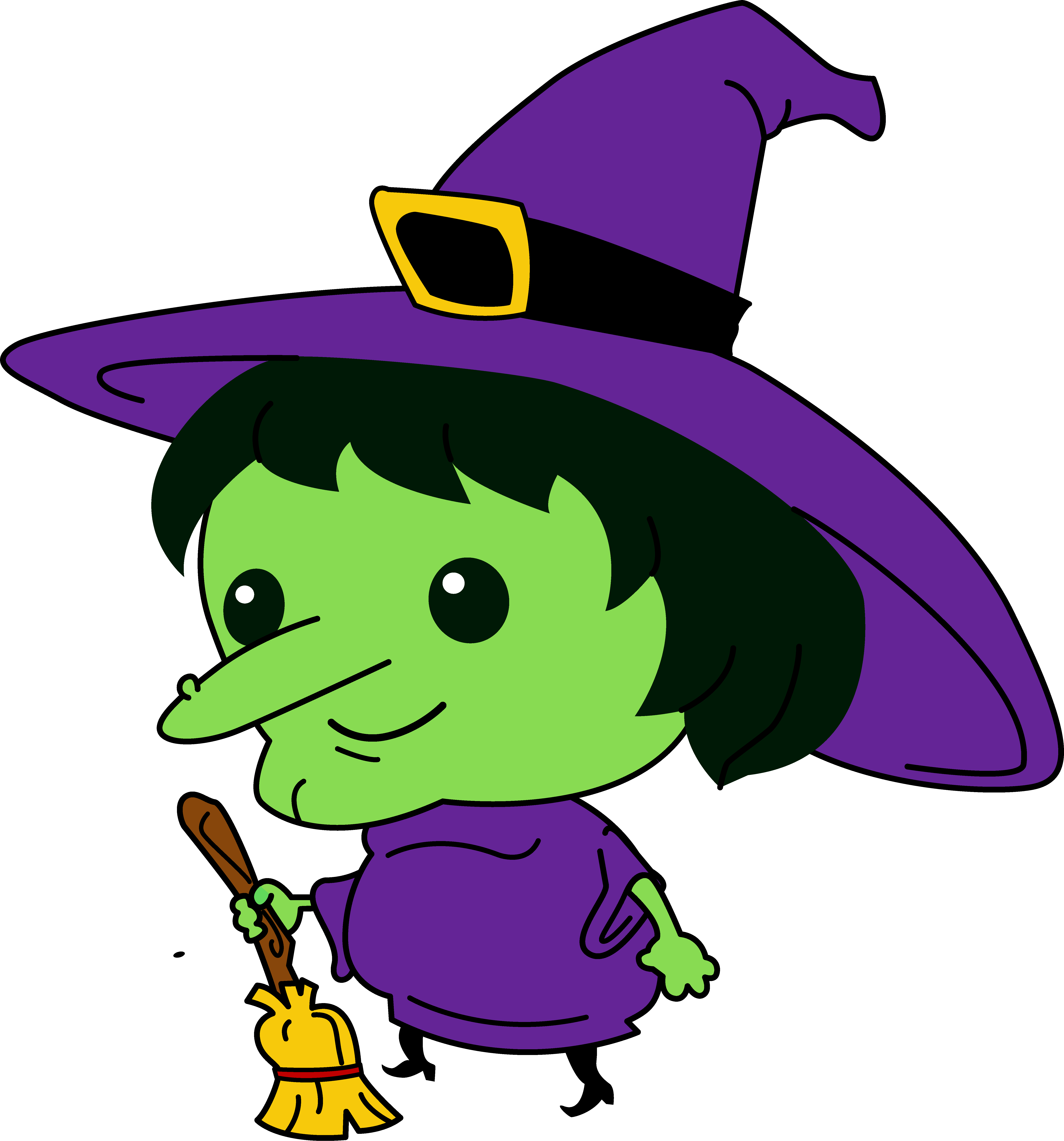 witch clipart 2
