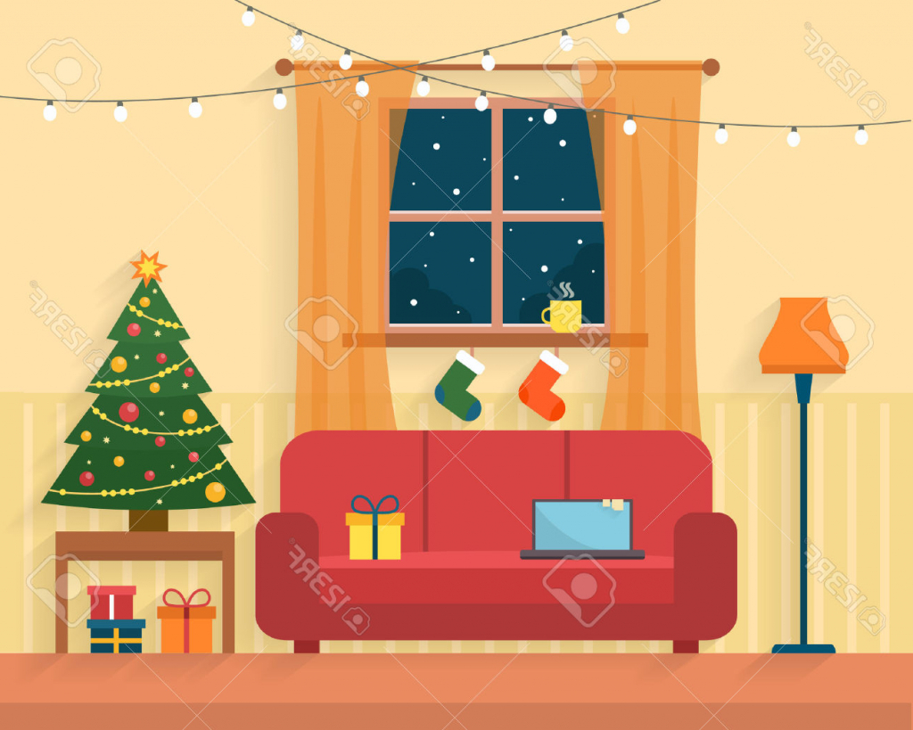 Tolles Geräumiges Clipart Wohnzimmer 80341 Living Stock