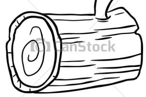 wood clipart black and white 2