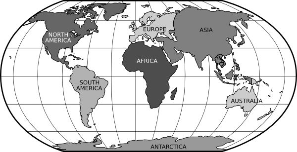 World map clipart black and white 3 clipart station world map clipart black and white 3 gumiabroncs Choice Image