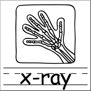 x ray clipart black and white 4 | Clipart Station
